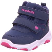 Schuhe Mädchen Schneestiefel Kangaroos KS Abe V RTX dk navy dasy pink blau