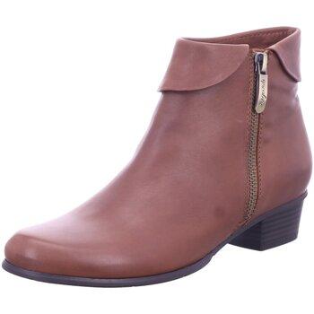 Schuhe Damen Ankle Boots Regarde Le Ciel Stiefeletten STEFANY-03-NOCE braun
