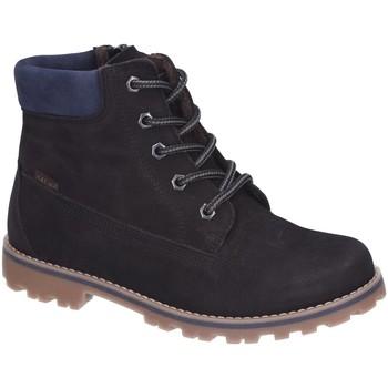 Schuhe Mädchen Boots Vado Schnuerstiefel Milan warm Tex 45201-001 schwarz