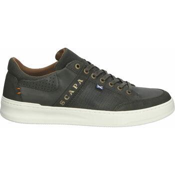Schuhe Herren Sneaker Low Scapa Sneaker Khaki