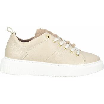 Schuhe Damen Sneaker Low Scapa Sneaker Beige