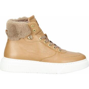 Schuhe Damen Sneaker High Scapa Sneaker Camel