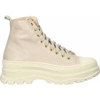Schuhe Damen Sneaker High Scapa Stiefelette Beige