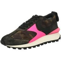 Schuhe Damen Sneaker Low Voile Blanche Schnuerschuhe 001 2016141 19 1Q72 grün