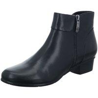 Schuhe Damen Stiefel Regarde Le Ciel Stiefeletten STEFANY 333 003 BLK schwarz