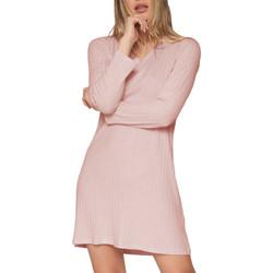 Kleidung Damen Pyjamas/ Nachthemden Admas Chemise de nuit manches longues Elegant Line Zartrosa
