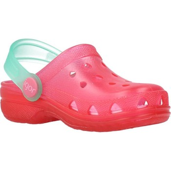 Schuhe Mädchen Pantoletten / Clogs IGOR S10116 Rosa