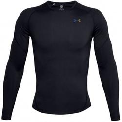 Kleidung Herren Sweatshirts Under Armour Rush Heatgear 2.0 Compression Long Sleeve Schwarz