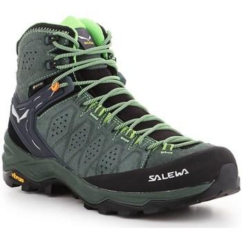 Schuhe Herren Wanderschuhe Salewa MS Alp 2 Mid Gtx Grün