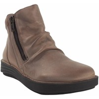 Schuhe Damen Boots Chacal 5625 taupe Grau