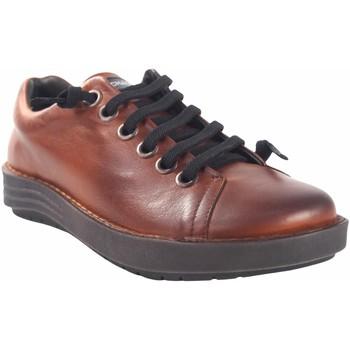 Schuhe Damen Sneaker Low Chacal Damenschuh  5620 Leder Braun