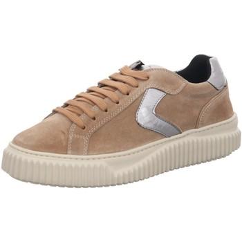 Schuhe Damen Sneaker Low Voile Blanche Schnuerschuhe 001 2016195 03 1D74 beige