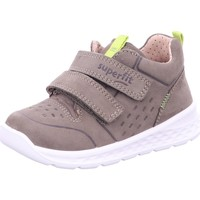 Schuhe Jungen Sneaker Low Superfit Klettschuhe 1-000363-7010 grün