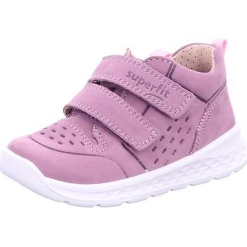 Schuhe Mädchen Babyschuhe Superfit Maedchen Stiefelette Leder \ BREEZE 1-000363-8510 pink