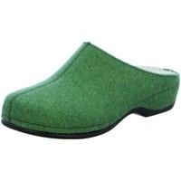 Schuhe Damen Hausschuhe Berkemann Florina 01025-819 grün