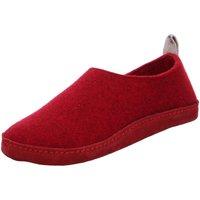 Schuhe Damen Hausschuhe Shepherd Selma 092- rot