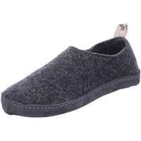 Schuhe Damen Hausschuhe Shepherd Selma 065-aphalt grau
