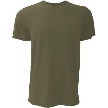Kleidung Herren T-Shirts Bella + Canvas CA3001 Grün