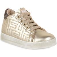 Schuhe Jungen Sneaker Low Naturino Q45 ORMEN PLATINUM TAUPE Marrone