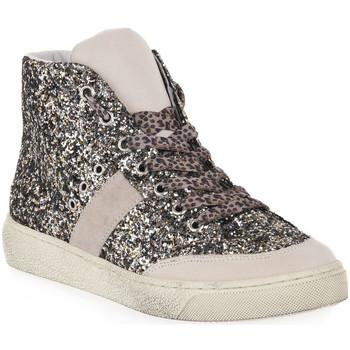 Schuhe Damen Sneaker High At Go GO GINGER GESSO Bianco