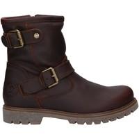 Schuhe Damen Boots Panama Jack FELINA IGLOO B20 Marr?n