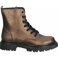 Schuhe Damen Boots Bullboxer Stiefelette Copper