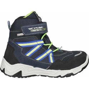 Schuhe Jungen Sneaker High Bama Teens Stiefelette Dunkelblau