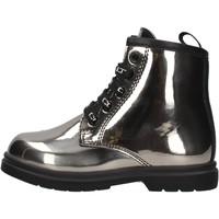 Schuhe Jungen Boots Cult - Anfibio nero START 3 ARGENTO