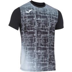 Kleidung Herren T-Shirts Joma - T-shirt nero 101929.100 NERO