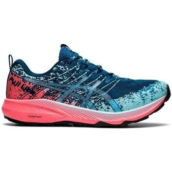 Schuhe Damen Sneaker Low Asics Fujilite 2 Dunkelblau