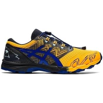 Schuhe Herren Laufschuhe Asics Gel Fujitrabuco Sky Gelb