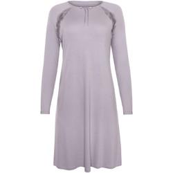 Kleidung Damen Pyjamas/ Nachthemden Lisca Langärmeliges Nachthemd Ivette Hellgrau