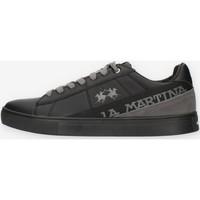 Schuhe Herren Sneaker Low La Martina LFM212001 Schwarz
