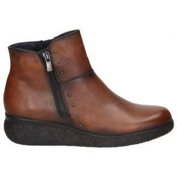 Schuhe Damen Low Boots Dorking BOTINES  D8571 SEÑORA CUERO Beige