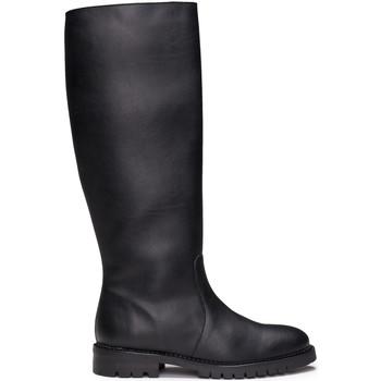 Schuhe Damen Klassische Stiefel Nae Vegan Shoes Tabita_Black Schwarz