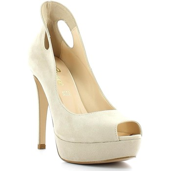 Schuhe Damen Pumps Grace Shoes 4825 Decolletè Frauen Beige Beige