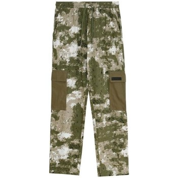 Kleidung Herren Cargo Hosen Sixth June Pantalon  Cargo Camouflage vert camouflage