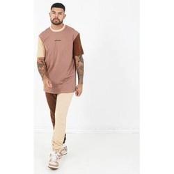 Kleidung Herren T-Shirts Sixth June T-shirt  Tricolor Regular beige