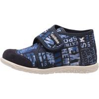 Schuhe Jungen Hausschuhe Ciciban - Pantofola blu 61450 VICKS BLU