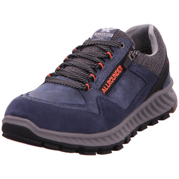 Schuhe Herren Sneaker Low Mephisto Utano Tex navy