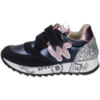 Schuhe Mädchen Sneaker Low Balducci JAR1830C BLAU