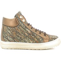 Schuhe Kinder Sneaker High Alberto Guardiani GK22950G Braun