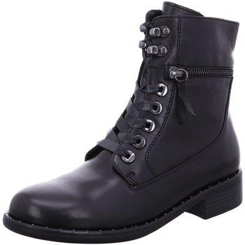 Schuhe Damen Stiefel Regarde Le Ciel Stiefeletten Roxana-04-2695 schwarz