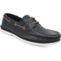 Schuhe Damen Bootsschuhe Seajure Bootsschuhe Zlatni Marineblau