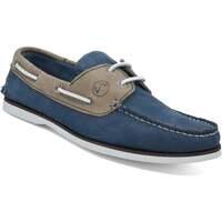Schuhe Damen Bootsschuhe Seajure Bootsschuhe Vicentina Kamel und Blau