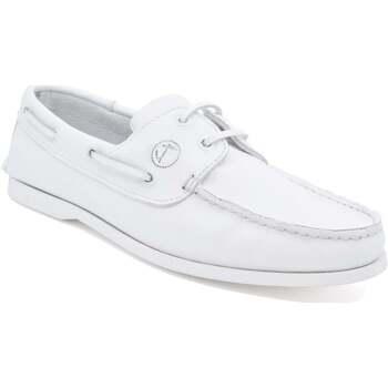 Schuhe Damen Bootsschuhe Seajure Bootsschuhe Knude Weiß