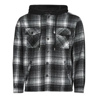 Kleidung Herren Jacken Yurban  Schwarz / Grau