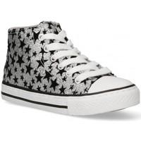 Schuhe Mädchen Sneaker High Bubble 58906 silbern