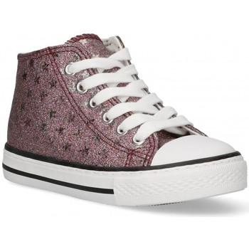 Schuhe Mädchen Sneaker High Bubble 58907 Rose