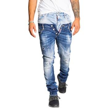 Kleidung Herren Slim Fit Jeans Dsquared S71LB0817 Blu